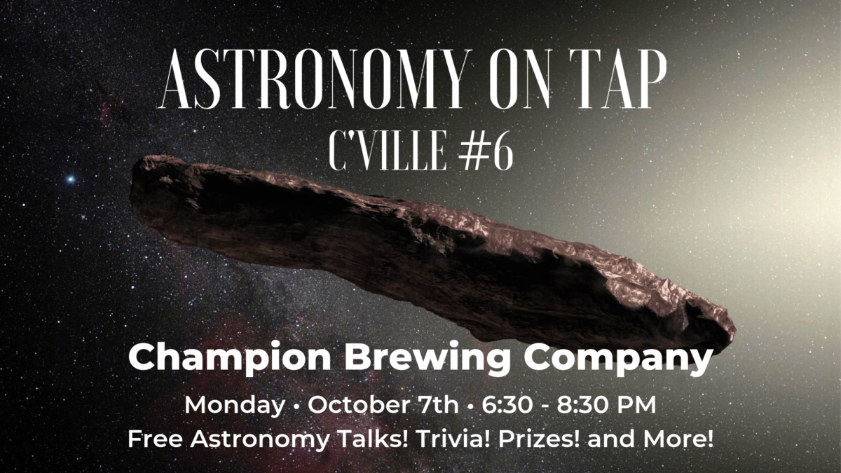 AoT C'ville #6 @ Champion Brewing – Oct 7th, 2019